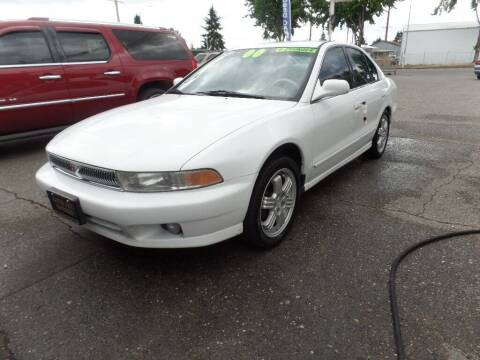 2000 Mitsubishi Galant for sale at Gold Key Motors in Centralia WA
