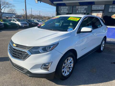 2020 Chevrolet Equinox for sale at Cow Boys Auto Sales LLC in Garland TX