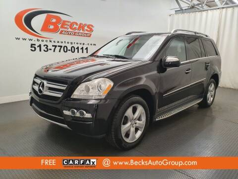 2010 Mercedes-Benz GL-Class for sale at Becks Auto Group in Mason OH