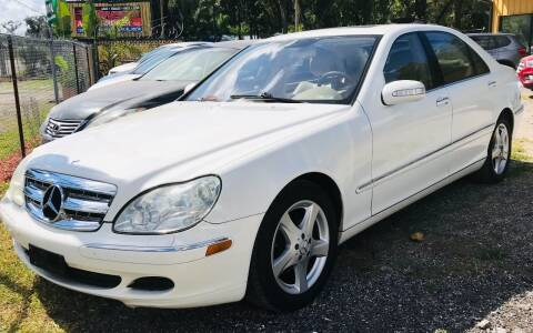 2004 Mercedes-Benz S-Class for sale at Pioneers Auto Broker in Tampa FL