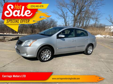 2011 Nissan Sentra for sale at Carriage Motors LTD in Ingleside IL