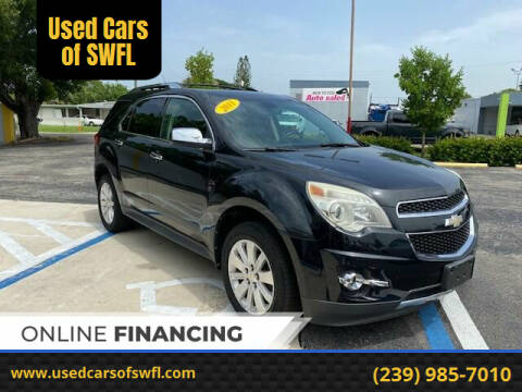 2011 Chevrolet Equinox for sale at Used Cars of SWFL in Fort Myers FL