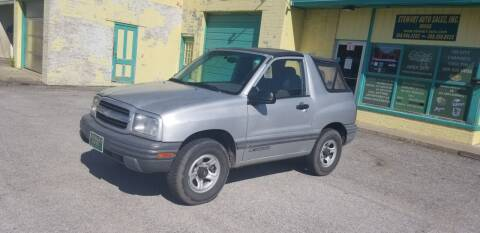 2000 Chevrolet Tracker for sale at Stewart Auto Sales Inc in Central City NE
