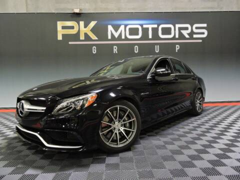2017 Mercedes-Benz C-Class for sale at PK MOTORS GROUP in Las Vegas NV