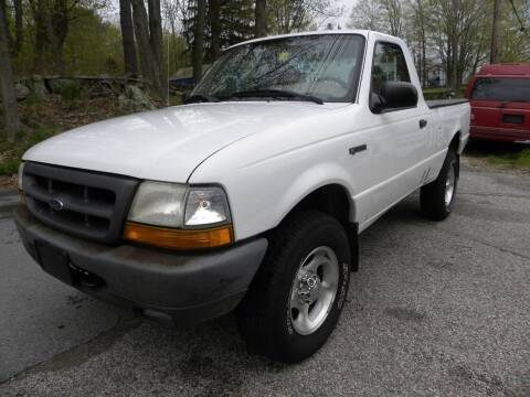 2000 Ford Ranger for sale at STURBRIDGE CAR SERVICE CO in Sturbridge MA