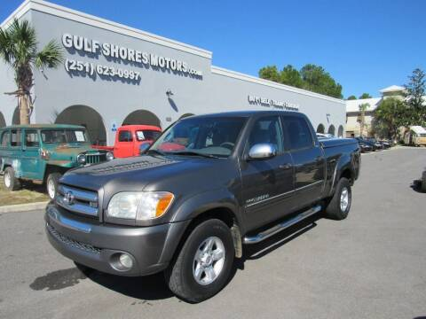2006 Toyota Tundra for sale at Gulf Shores Motors in Gulf Shores AL