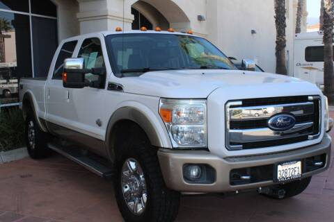 2012 Ford F250 King Ranch Crew Cab for sale at Rancho Santa Margarita RV in Rancho Santa Margarita CA