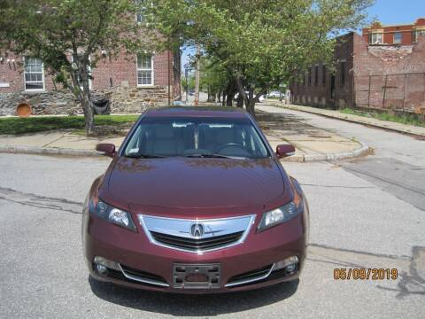 2014 Acura TL for sale at EBN Auto Sales in Lowell MA