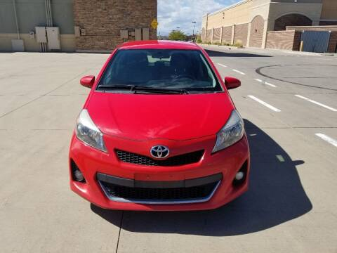 2012 Toyota Yaris for sale at Red Rock's Autos in Denver CO