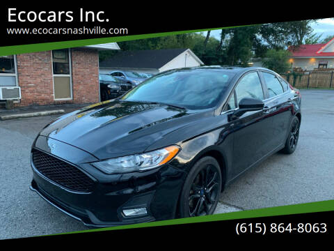 2020 Ford Fusion for sale at Ecocars Inc. in Nashville TN