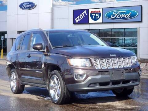 2014 Jeep Compass for sale at Szott Ford in Holly MI