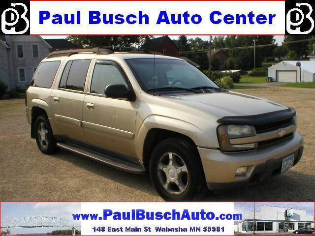 2005 Chevrolet TrailBlazer EXT for sale at Paul Busch Auto Center Inc in Wabasha MN