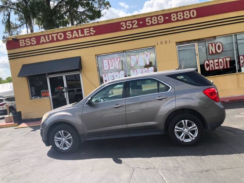 2010 Chevrolet Equinox for sale at BSS AUTO SALES INC in Eustis FL