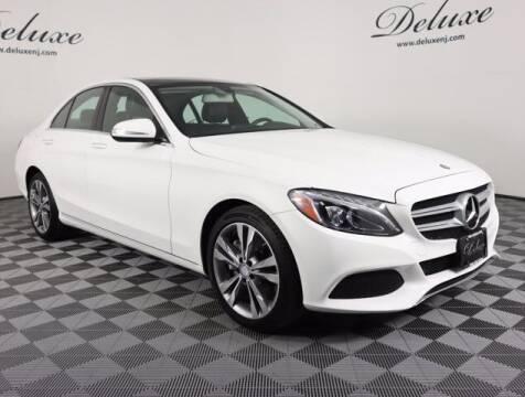 2015 Mercedes-Benz C-Class for sale at DeluxeNJ.com in Linden NJ