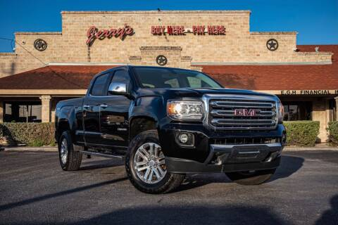 2015 GMC Canyon for sale at Jerrys Auto Sales in San Benito TX