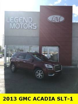 2013 GMC Acadia for sale at Legend Motors of Detroit - Legend Motors of Ferndale in Ferndale MI