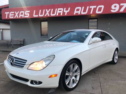2008 Mercedes-Benz CLS for sale at Texas Luxury Auto in Cedar Hill TX