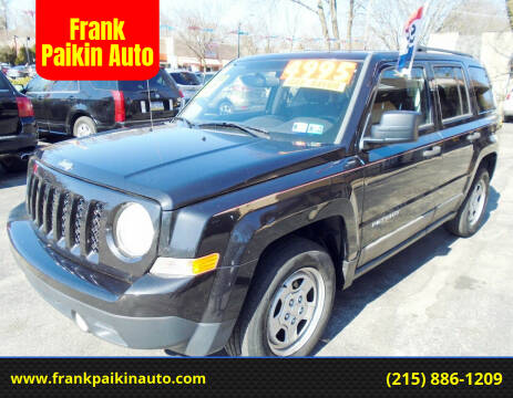 2011 Jeep Patriot for sale at Frank Paikin Auto in Glenside PA