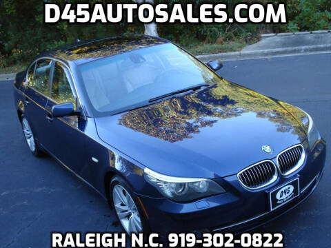 2009 BMW 5 Series for sale at D45 Auto Brokers in Raleigh NC