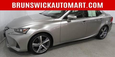 2017 Lexus IS 300 for sale at Brunswick Auto Mart in Brunswick OH