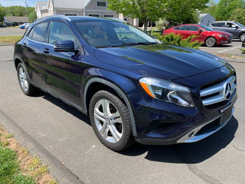 2017 Mercedes-Benz GLA for sale at Volpe Preowned in North Branford CT