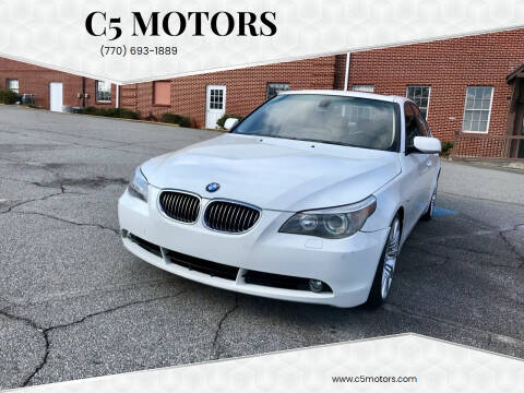 2007 BMW 5 Series for sale at C5 Motors in Marietta GA