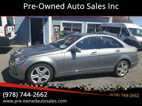 2011 Mercedes-Benz C-Class for sale at Pre-Owned Auto Sales Inc in Salem MA