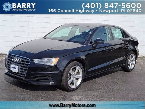2015 Audi A3 for sale at BARRYS Auto Group Inc in Newport RI