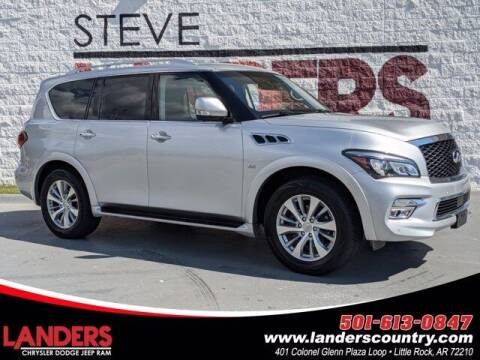 2016 Infiniti QX80 for sale at The Car Guy powered by Landers CDJR in Little Rock AR