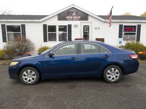 2010 Toyota Camry for sale at R & L AUTO SALES in Mattawan MI