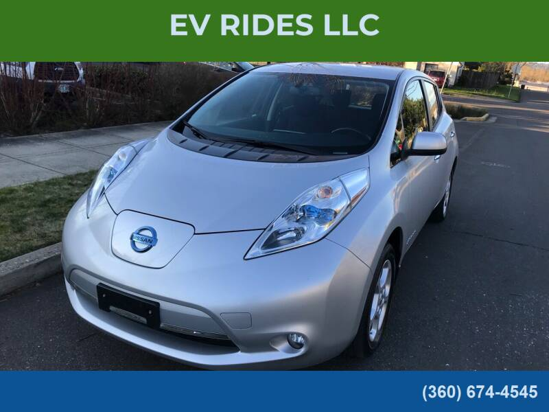 2015 Nissan LEAF for sale at EV RIDES LLC in Portland OR
