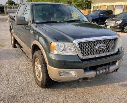 2005 Ford F-150 for sale at Apex Auto SA in San Antonio TX