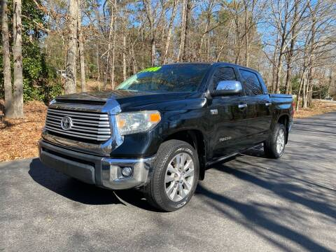 2014 Toyota Tundra for sale at US 1 Auto Sales in Graniteville SC