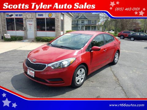 2016 Kia Forte for sale at Scotts Tyler Auto Sales in Wilmington IL
