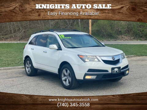 2010 Acura MDX for sale at Knights Auto Sale in Newark OH