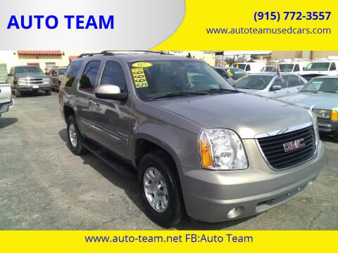 2007 GMC Yukon for sale at AUTO TEAM in El Paso TX