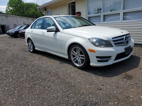 2012 Mercedes-Benz C-Class for sale at Russo's Auto Exchange LLC in Enfield CT