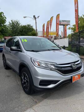 2016 Honda CR-V for sale at TOP SHELF AUTOMOTIVE in Newark NJ