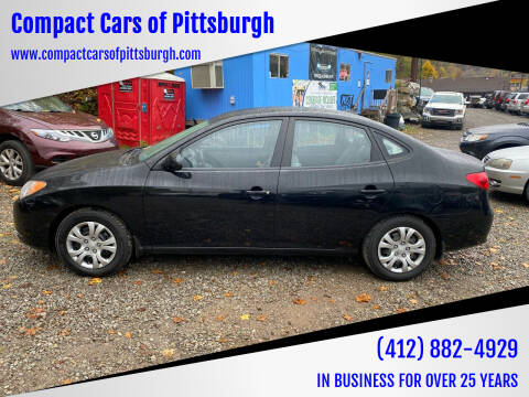 2009 Hyundai Elantra for sale at Compact Cars of Pittsburgh in Pittsburgh PA