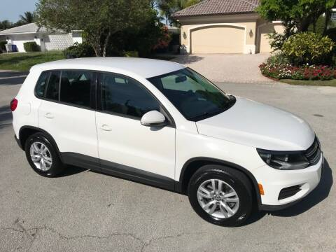 2012 Volkswagen Tiguan for sale at Exceed Auto Brokers in Pompano Beach FL