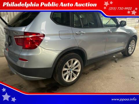 2013 BMW X3 for sale at Philadelphia Public Auto Auction in Philadelphia PA