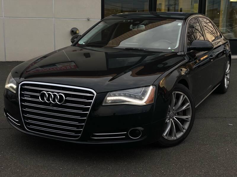 2014 Audi A8 L for sale at MAGIC AUTO SALES in Little Ferry NJ