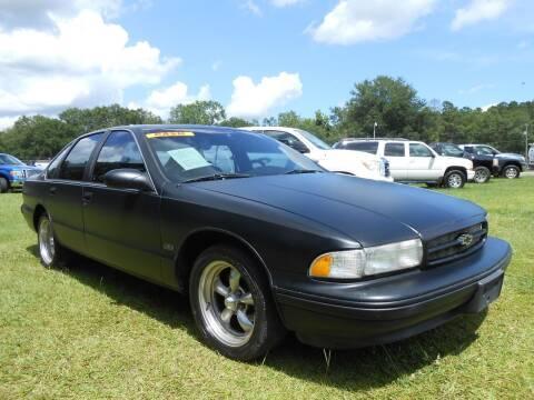 1995 Chevrolet Impala for sale at Jeff's Auto Wholesale in Summerville SC