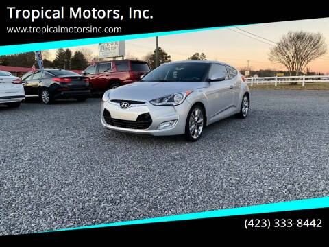 2017 Hyundai Veloster for sale at Tropical Motors, Inc. in Riceville TN