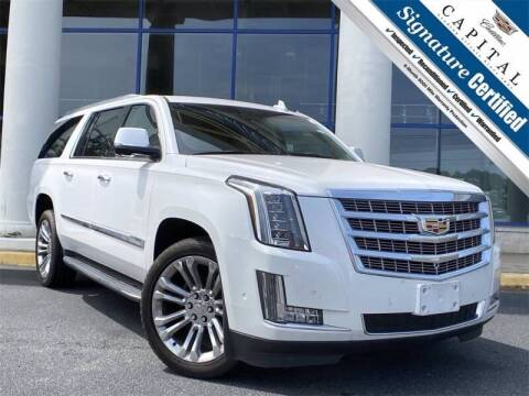 2017 Cadillac Escalade ESV for sale at Southern Auto Solutions - Georgia Car Finder - Southern Auto Solutions - Capital Cadillac in Marietta GA