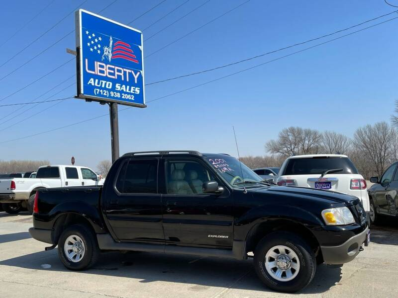2001 Ford Explorer Sport Trac for sale at Liberty Auto Sales in Merrill IA