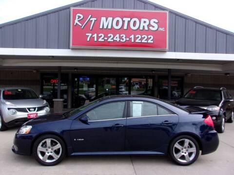 2008 Pontiac G6 for sale at RT Motors Inc in Atlantic IA