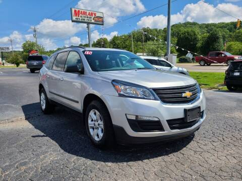 2015 Chevrolet Traverse for sale at MARLAR AUTO MART SOUTH in Oneida TN