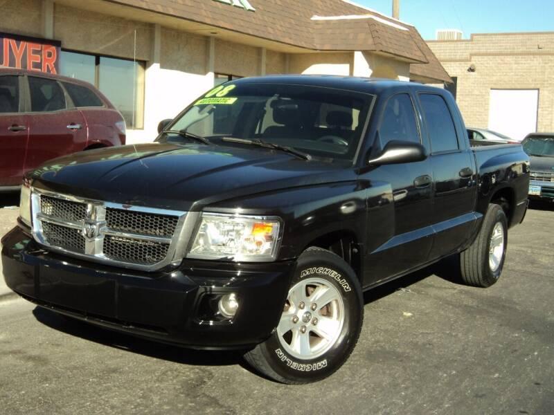 2008 Dodge Dakota for sale at DESERT AUTO TRADER in Las Vegas NV