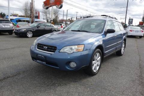 2007 Subaru Outback for sale at Leavitt Auto Sales and Used Car City in Everett WA
